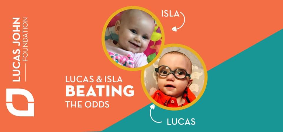 Lucas isla banner