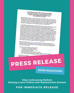 Press Release NKH Fundraiser Walkathon