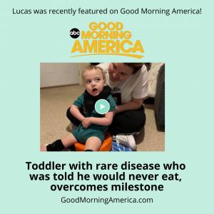 Lucas on Good Morning America
